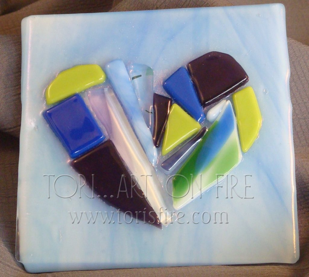 Fused Glass Fingerprints